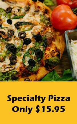 Specialty Pizzas by Certified Pies